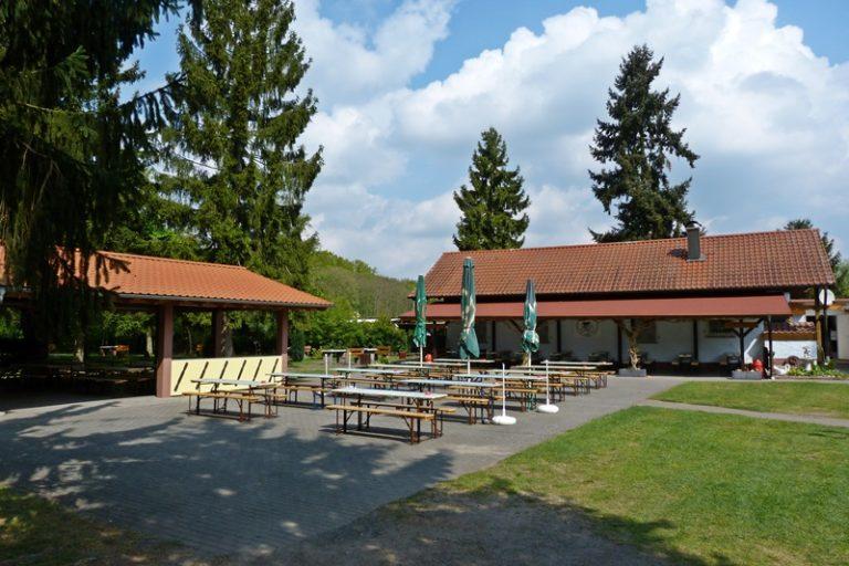 Grillhütte und Vereinsheim