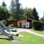 Rutschen und WC Haus