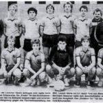 Mannschaft Hallenturnier FCE 1984_2.Platz