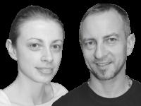 Dejan und Mica_sw